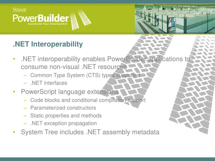 .NET Interoperability