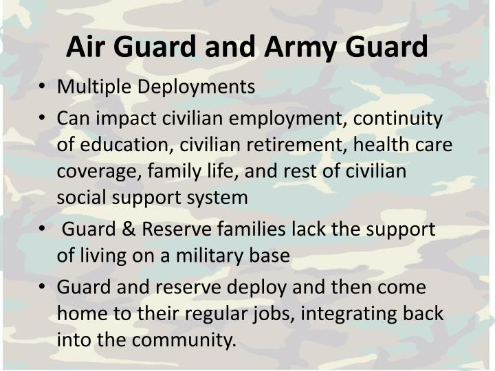 Air Guard and Army Guard