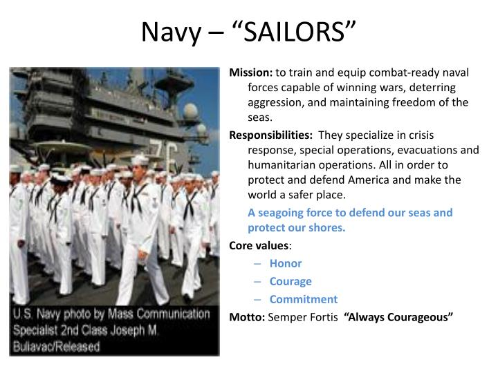 "Navy – ""SAILORS"""