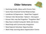 older veterans