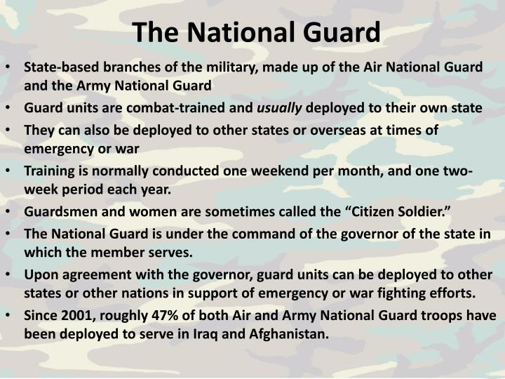 The National Guard