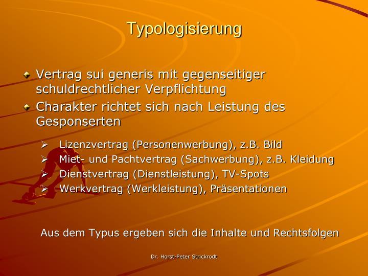 Typologisierung