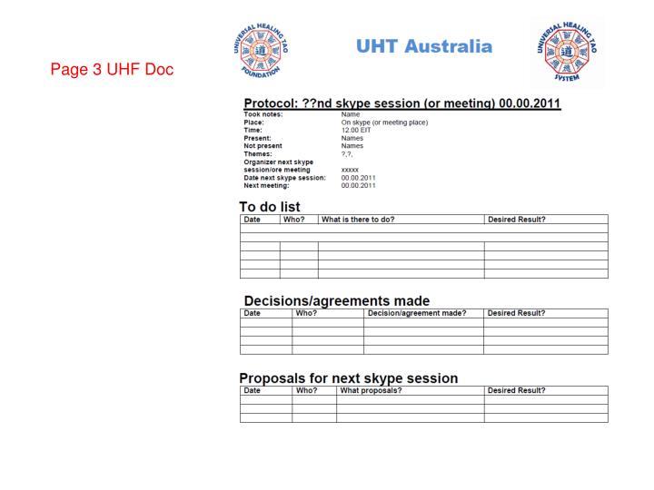 Page 3 UHF Doc