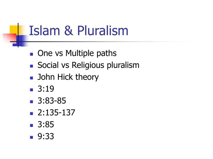 Islam & Pluralism