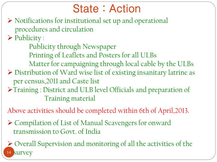 State : Action