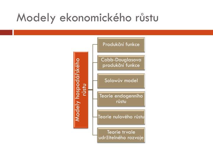 Modely ekonomického růstu