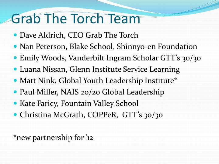 Grab The Torch Team