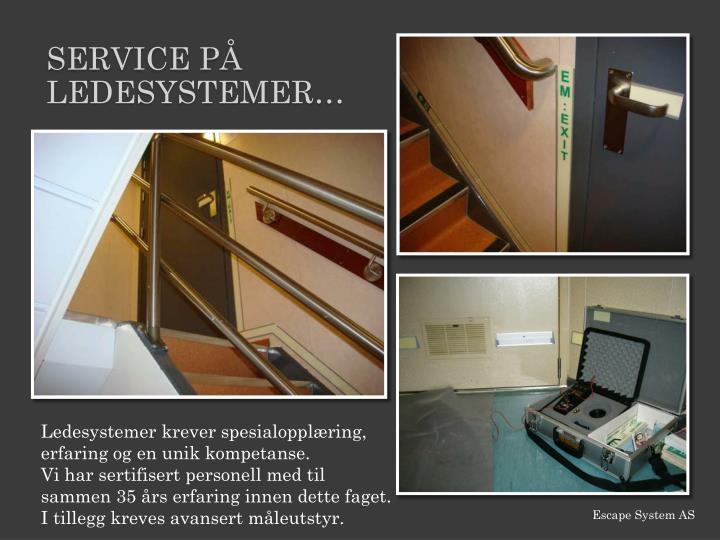 Service PÅ