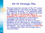 ra vi strategic plan