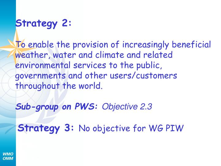 Strategy 2: