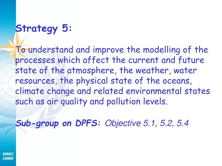 Strategy 5: