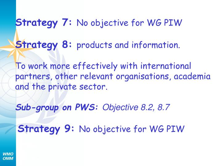 Strategy 7: