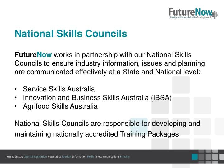 National Skills Councils