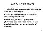 main activities2