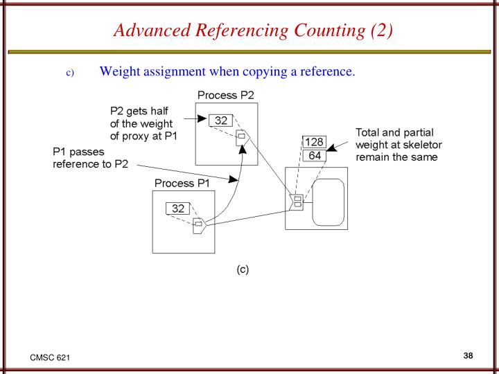 Advanced Referencing Counting (2)