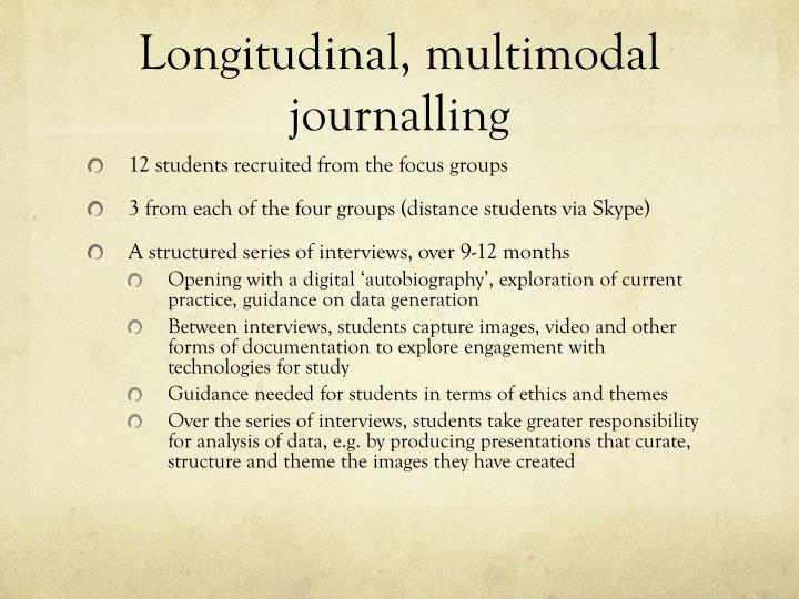 Longitudinal, multimodal