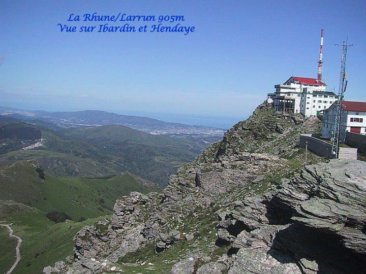 La Rhune/Larrun 905m
