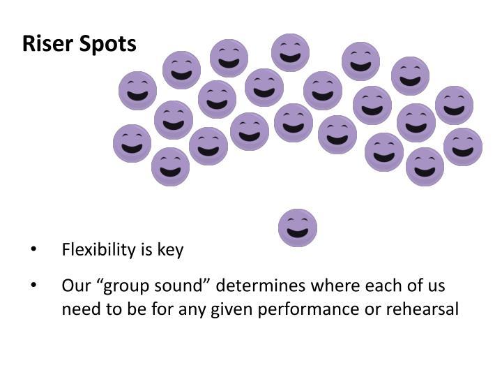 Riser Spots