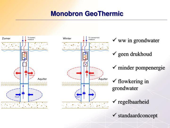 Monobron GeoThermic