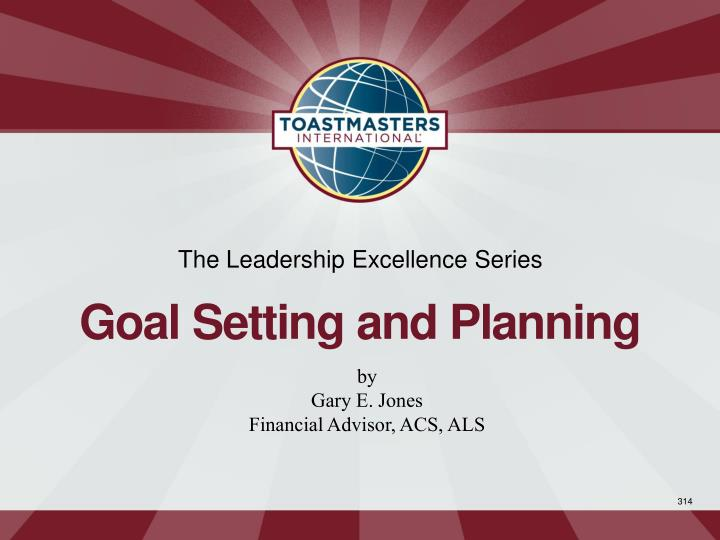 The Leadership Excellence Series