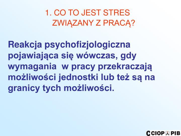 1. CO TO JEST STRES