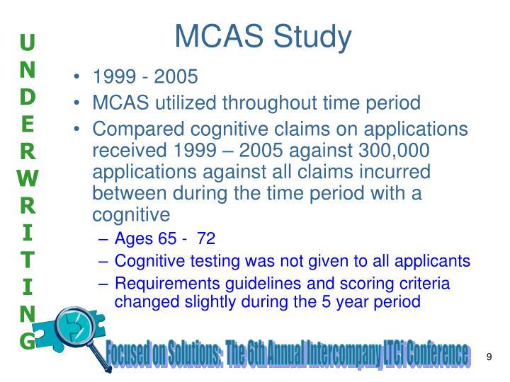 MCAS Study