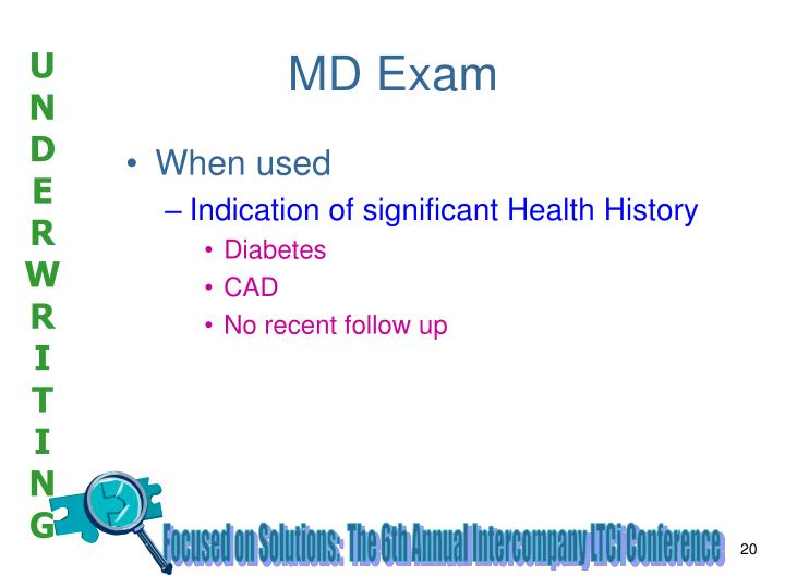 MD Exam
