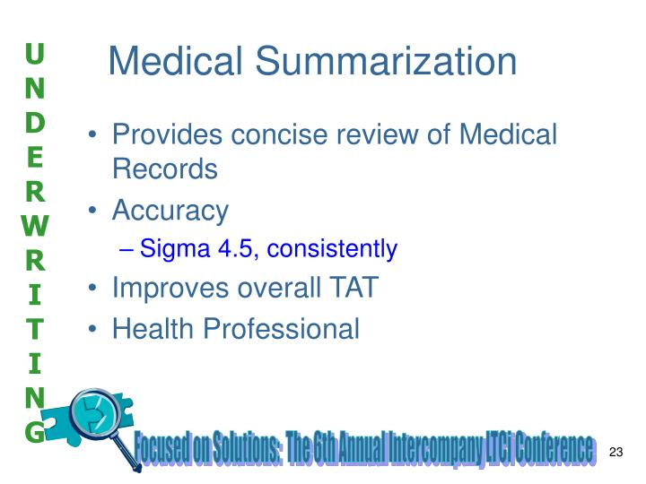 Medical Summarization