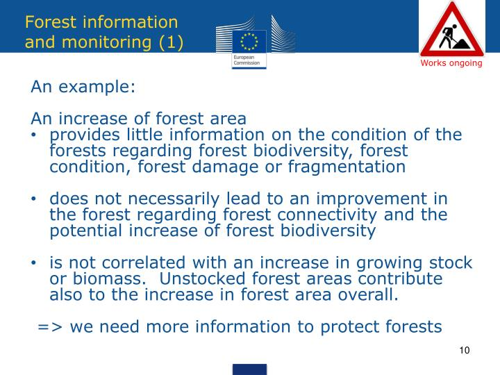Forest information