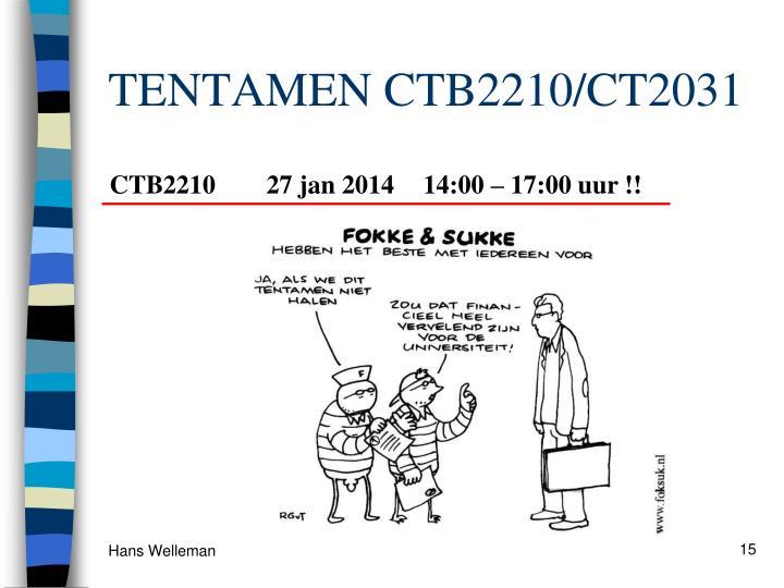 TENTAMEN CTB2210/CT2031