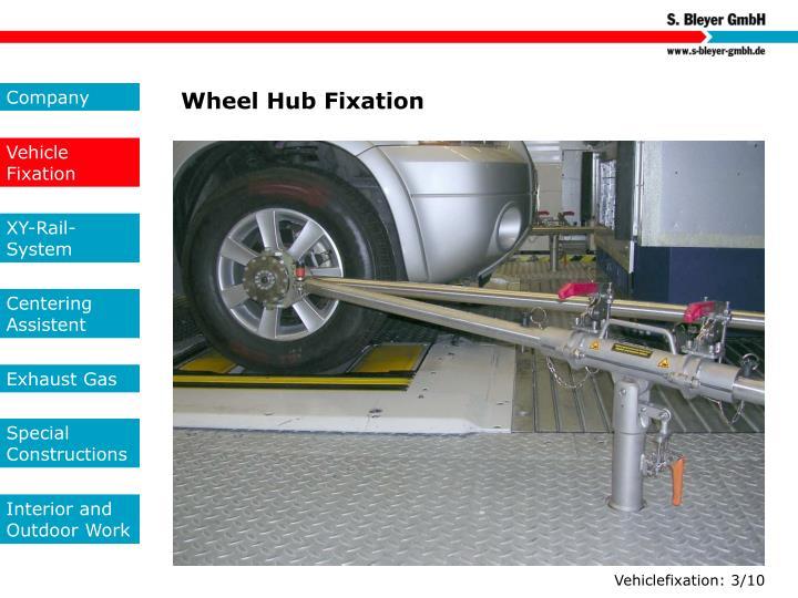 Wheel Hub Fixation