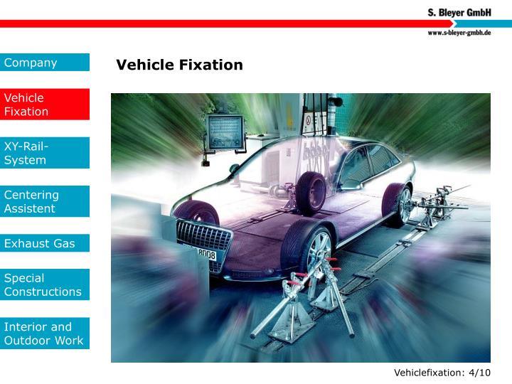 Vehicle Fixation