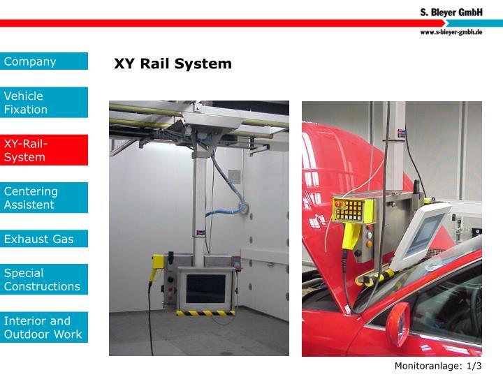 XY Rail System