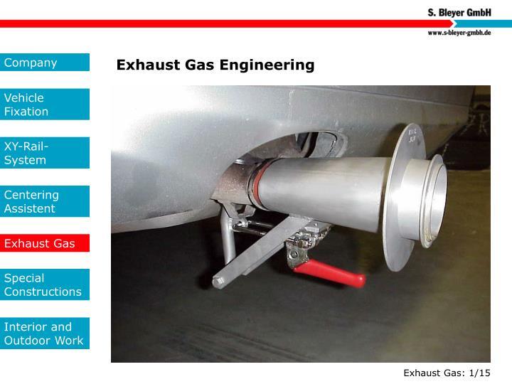 Exhaust Gas Engineering