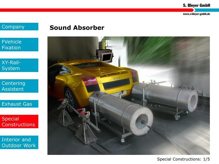 Sound Absorber