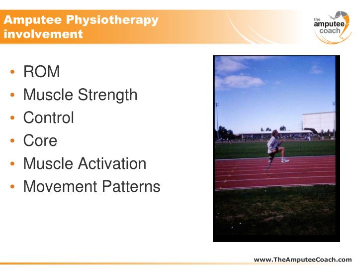 Amputee Physiotherapy involvement