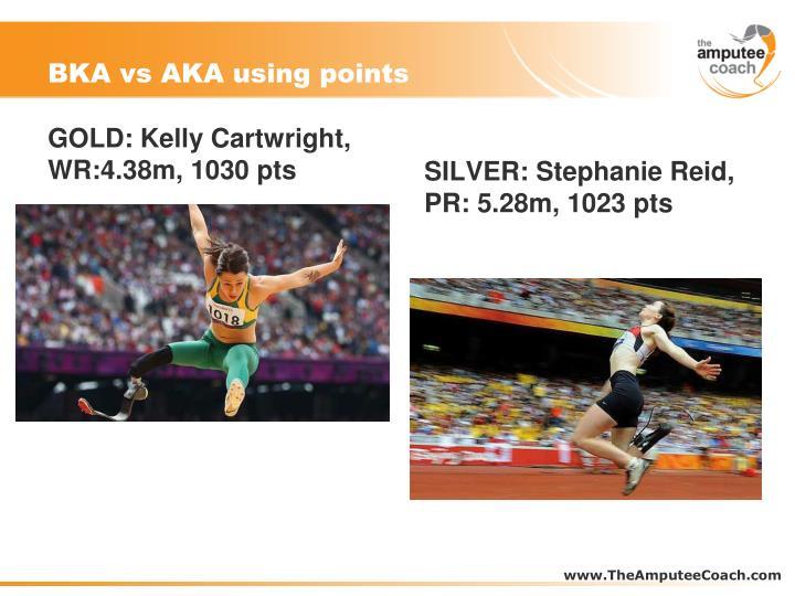 BKA vs AKA using points