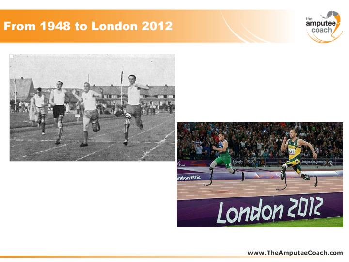 From 1948 to London 2012