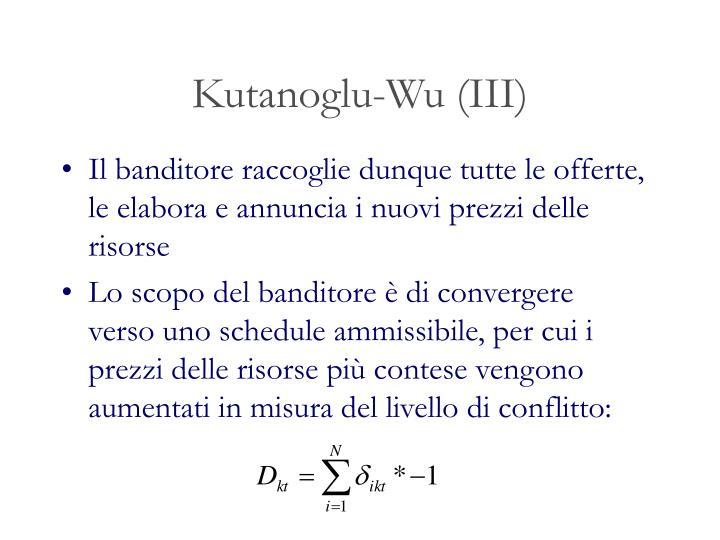 Kutanoglu-Wu (III)
