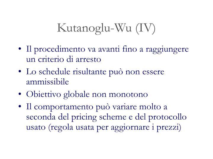 Kutanoglu-Wu (IV)