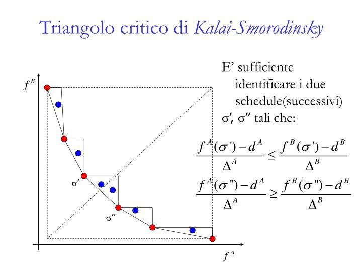 Triangolo critico di