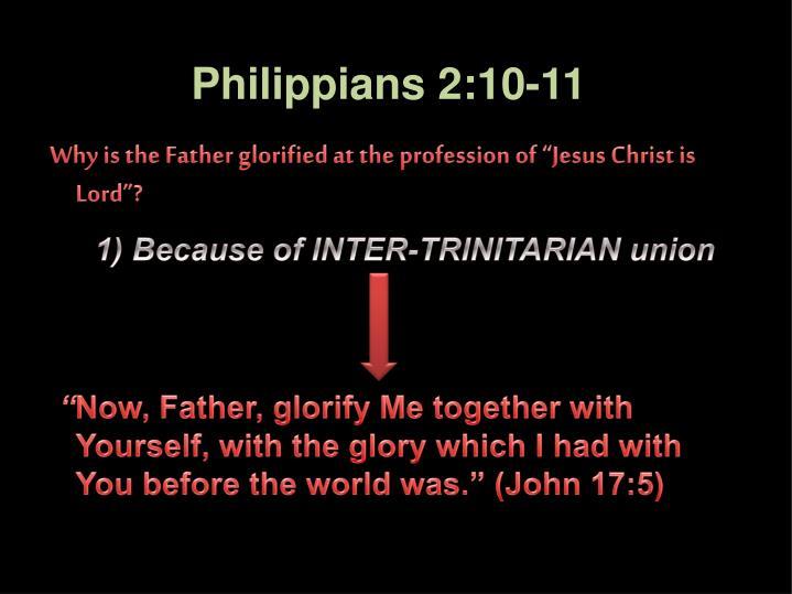 Philippians 2:10-11
