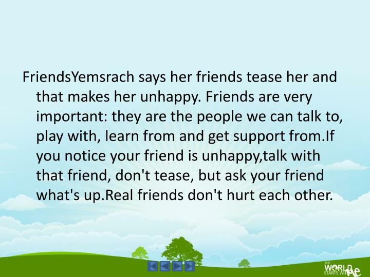FriendsYemsrach