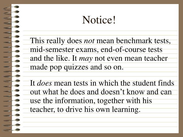 Notice!