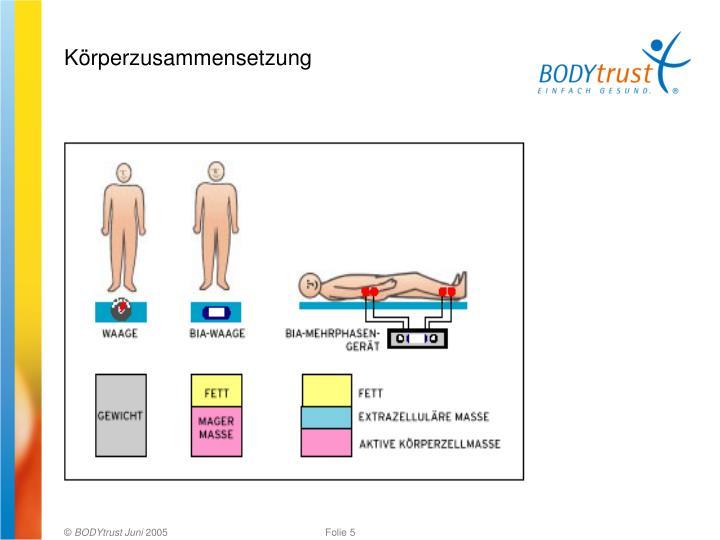 Körperzusammensetzung