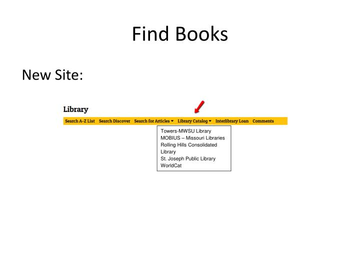 Find books1