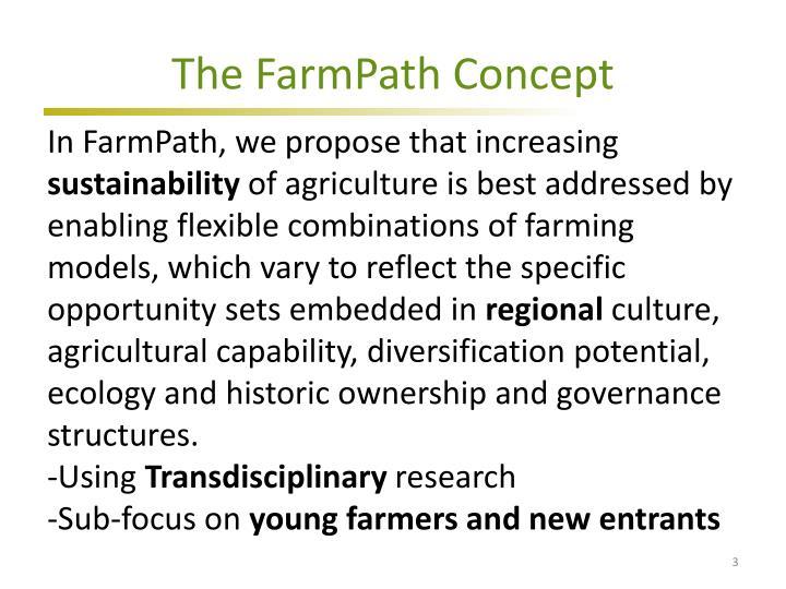 The FarmPath Concept