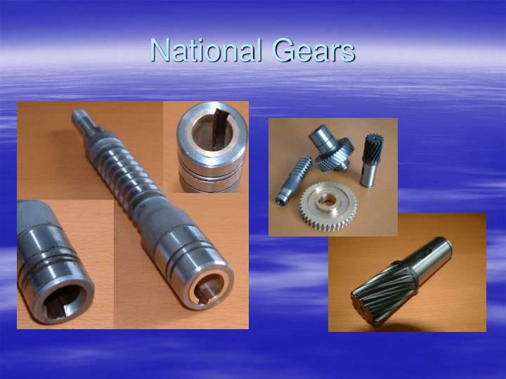 National Gears
