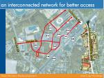 an interconnected network for better access