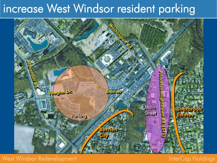 increase West Windsor resident parking